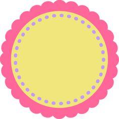 PerfectlyGirly_ScallopCircle_Yellow - Minus