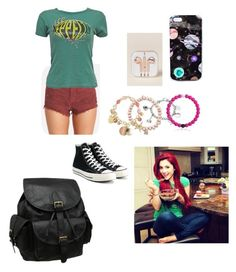 """Character Wardrobe// Singer"" by radioactivenovas on Polyvore featuring Billabong, Converse, AmeriLeather, Nikki Strange, OK Originals, Marvel, Sydney Evan and Avenue"