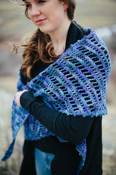 Open Sky Shawl PDF Crochet Pattern Instant by TheFireflyHook