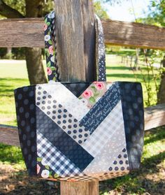 Follow along with the video as Kimberly walks you through the Jolly Braid Tote Bag pattern step by step! More totes to sew: