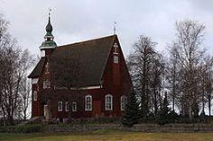 Yläneen kirkko syksyllä 2008