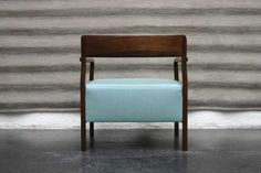 love the blue on this Berin chair...