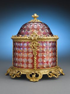 Baccarat Crystal and Ormolu Centerpiece 1860