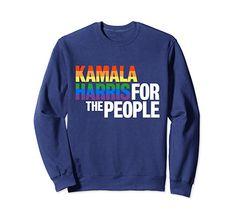Kamala Harris For President T-Shirt Kamala Harris, Rainbow Pride, Gay Pride, Graphic Sweatshirt, T Shirt, Lgbt, Fashion Brands, Presidents, Wave