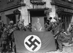 Soldiers Across the Rhine River in Germany U.S New 5x7 World War II Photo