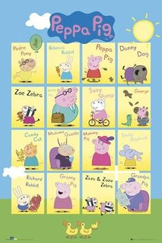 Character Collage - Peppa Pig
