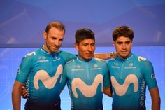 Movistar Team Movistar Team's new kit is made by Scottish company Endura,They have moved from dark blue to light blue to align themselves with title sponsor Movistar's recent rebranding, It is hoped the new colour will increase the team's visibility in the peloton.