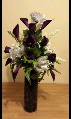 Purple Silver & Black