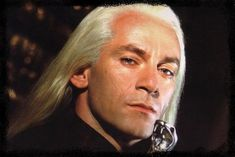 """Jason Isaacs as """"Lucious Malfoy"""" in """"Harry Potter"""""""