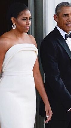 President Of The United States Barack Obama and First Lady Of The United States Michelle Obama Welcomed the Singapore Prime Minister Lee Hsien Loong and His Wife Ho Ching to the White House | August 2, 2016 | 12th State Dinner