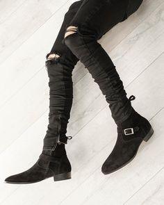 Mens Boots Fashion, Best Mens Fashion, Stylish Men, Men Casual, Chelsea Boots Outfit, Mens Clothing Styles, Men's Boots, Omari Hardwick, Jason Momoa