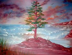 Survivor Oil on canvas Barb Savary, 2010