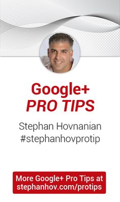 There are some amazing #Google+ Marketing Strategies and Tips here.  Stephan has built a following of over 25,000 and has used Google+ to market his #business.  Check out his tips!