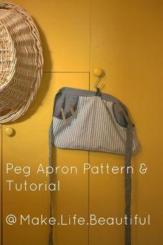 Peg Apron Tutorial | Craftsy