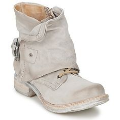 Image result for Women'S Silver Boots Mid Airstep A.S.98 Saint Metal Shoe