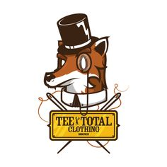 Tee Total Clothing (Branding & Mascot) by Jared Nickerson, via Behance