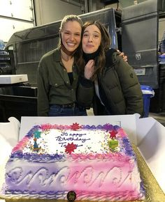 Tracy Spiridakos / Marina Squerciati Happy Birthday Beautiful, Happy Birthday Me, Chicago Pd, Chicago Fire, Marina Squerciati, Tracy Spiridakos, Mom, Mothers