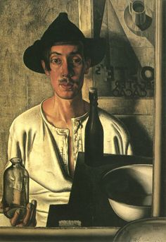 Self-portrait by Dick Ket (Dutch with a serious heart defect Ket was prevented from traveling by debilitating weakness as well as by phobias, and lived secluded in his parents' house. Figure Painting, Painting & Drawing, Sir Anthony, Andrew Wyeth, Edward Hopper, Dutch Painters, Painting Still Life, Magritte, Dutch Artists