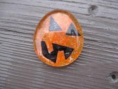 Craft Klatch: Glass Stone Pumpkins