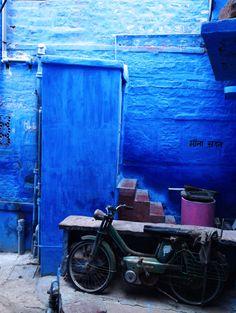 The Blue City - Jodhpur, India http://thewayfarerdiaries.com/blue-jodhpur/