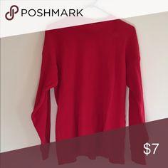 Red large (fits like medium) used thermal Red large (fits like medium due to use) used thermal Shirts Sweatshirts & Hoodies
