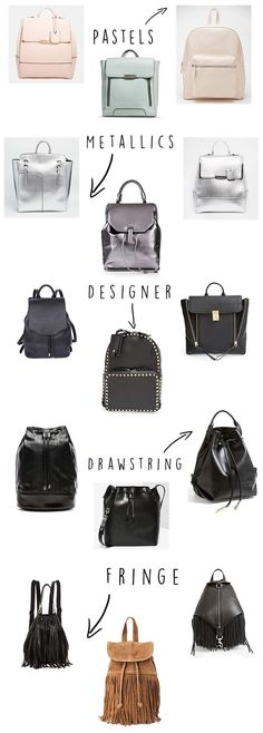 Trend report: The backpack is back! via @stylelist | http://aol.it/1L9FTWP