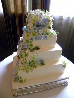 hydrangeas -By Tiffany's Baking Co.