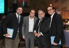 Rabbi Martin Katz, Raymond Chalme, Rabbi Etan Tokayer,