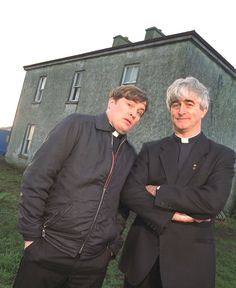 Down with that sort of thing. Father Ted.