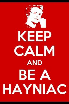Im not a Belieber or a Directioner..... but I am a HAYNIAC! And hes all I ever wanted :)