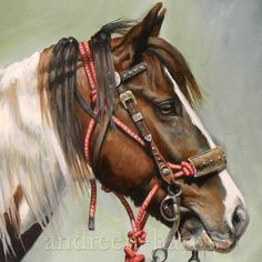 Search and Rescue Horse Print 8 x 10 by andreenharrisart on Etsy, $25.00
