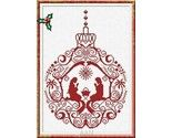 Angel Ornament christmas cross stitch chart AAN Alessandra Adelaide Needleworks - Other