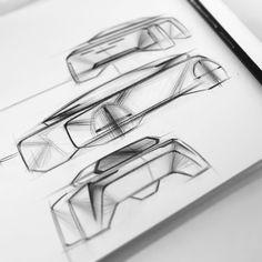 图片中可能有:图画 Sketch A Day, Pen Sketch, Sketches, Car Design Sketch, Design Art, Automotive Design, Auto Design, Design Research, Transportation Design