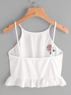 Summer Outfit For Teen Girls, Cute Summer Outfits, Outfits For Teens, Pretty Outfits, Cool Outfits, Checkered Outfit, Beautiful Casual Dresses, White Outfits, Cami Tops