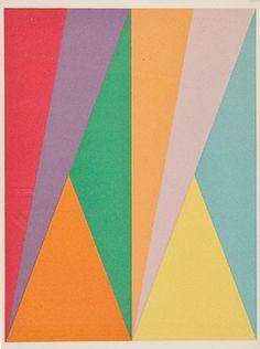 MAX BILL -- SENZA TITOLO (FROM SAN LAZARO ET SES AMIS), 1975