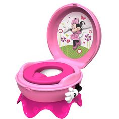 Potty training is a breeze with Minnie by your side!