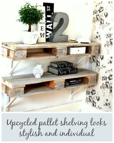 10 Ways to Upcycle Wooden Pallets by Jen Stanbrook | The Oak Furniture Land Blog