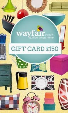 Win a Gift Voucher from Wayfair UK and The Life of Stuff What's better than a competition? It's a GIVEAWAY! … and this one brought to you by the very considerate (if I don't say so myself) The Life of. Mason Jar Crafts, Mason Jar Diy, Crafts To Make And Sell Unique, Household Chores, Diy Wedding Favors, Gift Vouchers, Valentine Day Cards, Home Gifts, Fun Crafts