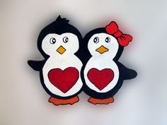Imãs de geladeira - Pinguins 45 / Magnets