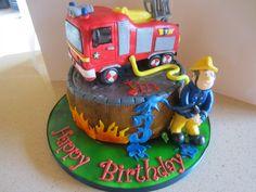 Fireman Sam & Jupiter Birthday Cake
