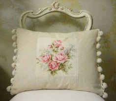 Shabby chic pillow <3