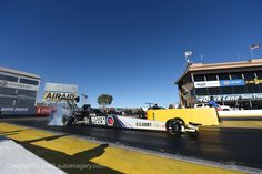The 2015 Champ Antron Brown and Team Testing during the Pre-Season