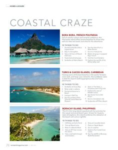 Coastal Craze - Wondering where to spend your vacation this summer? Check out reviewit's beach destinations and 10 things to do there!