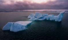 Icelandic Glaciers ~ The famous Glacier Lagoon shot from above with DJI Phantom 4.