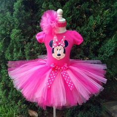 I love Minnie Tutu Outfit