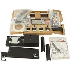 Printrbot Simple Kit 1403 with Heated Bed and Aluminum Handle – Spool Rack 3D Printer Kit