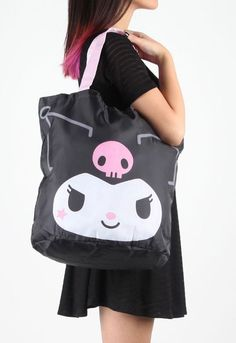 This #Kuromi eco-tote adds interest to your day