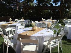 The courtyard at The Farmhouse at Schnepf Farms. #countrywedding #farmlife #azwedding