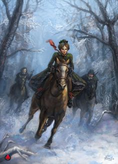 Fantasy Artwork by xadrial
