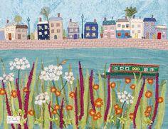 Jackie Gale | Devon Textile Artist | Meet Me At The River